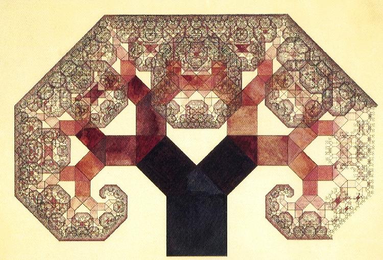 Bosmans boom van Pythagoras (zie Bruno's columns februari en maart 2004)