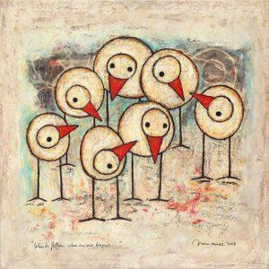 De weg kwijt? Van de Tilburgse kunstenaar Hans Innemee, zie de column van december.
